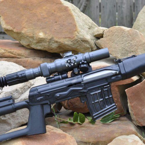 Lunette PO 3-9x42M 1P21 Sniper Pancratic Sight - AK & SVD