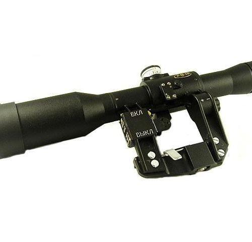 Lunette POSP 6x42M6 D PRO Réticule US MIL-DOT - MIL SPEC