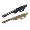 Chassis tactique aluminium LSS pour crosse pliable - Remington 700 (Long Action)