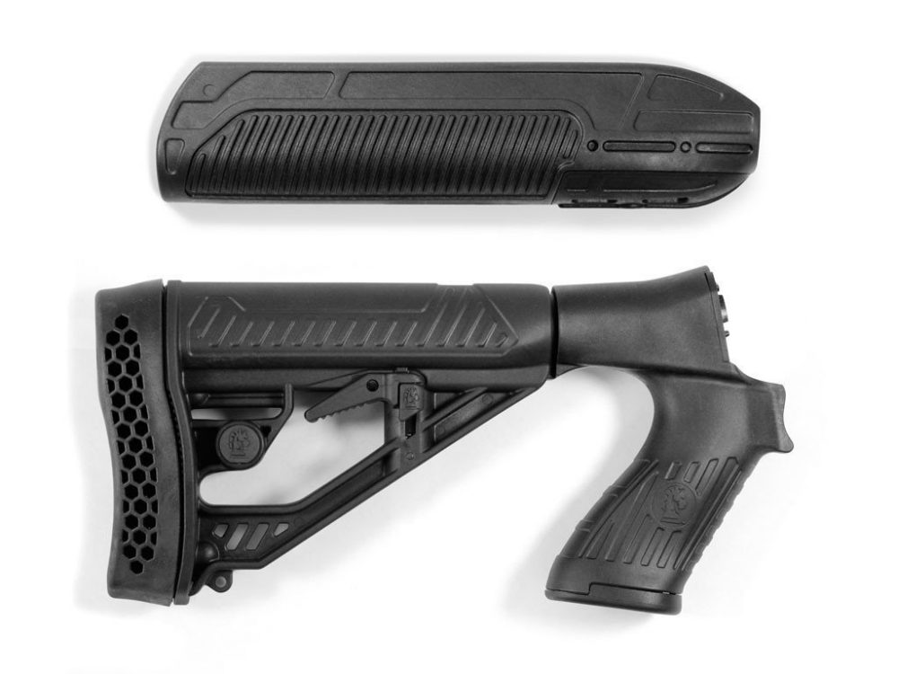 Tactical Handgun y Handguard Adaptive Tactical para Mossberg / Maverick