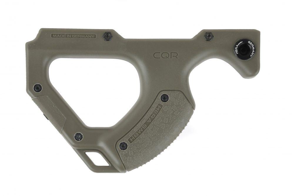 Garde Main Compact CQR (Close Quarter Rifle) Hera Arms pour rail Picatinny / OD GREEN