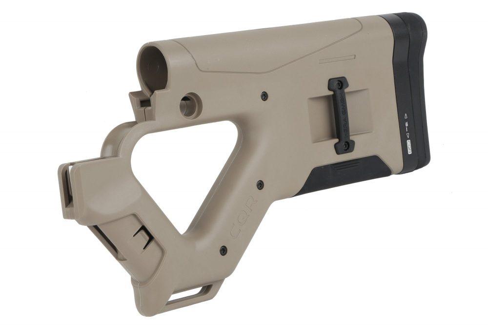Crosse CQR (Close Quarter Rifle) Hera Arms pour AR15 / DESERT TAN
