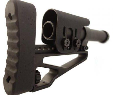 Crosse Tactique CROOK pour Fusil et Carabine - CTS Sniper V1 - BLACK