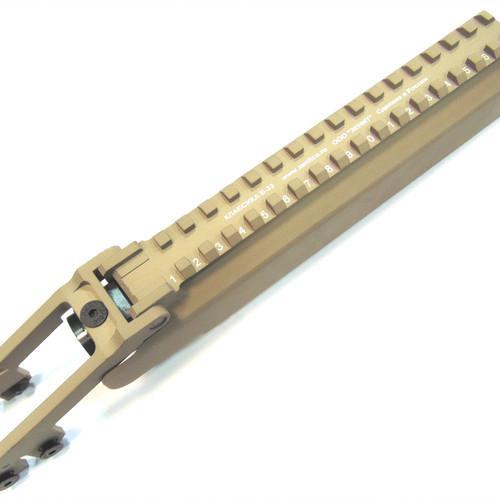 Tapa receptora Zenitco B-33 Tactical Lid - Para AK / Desert Sand Family