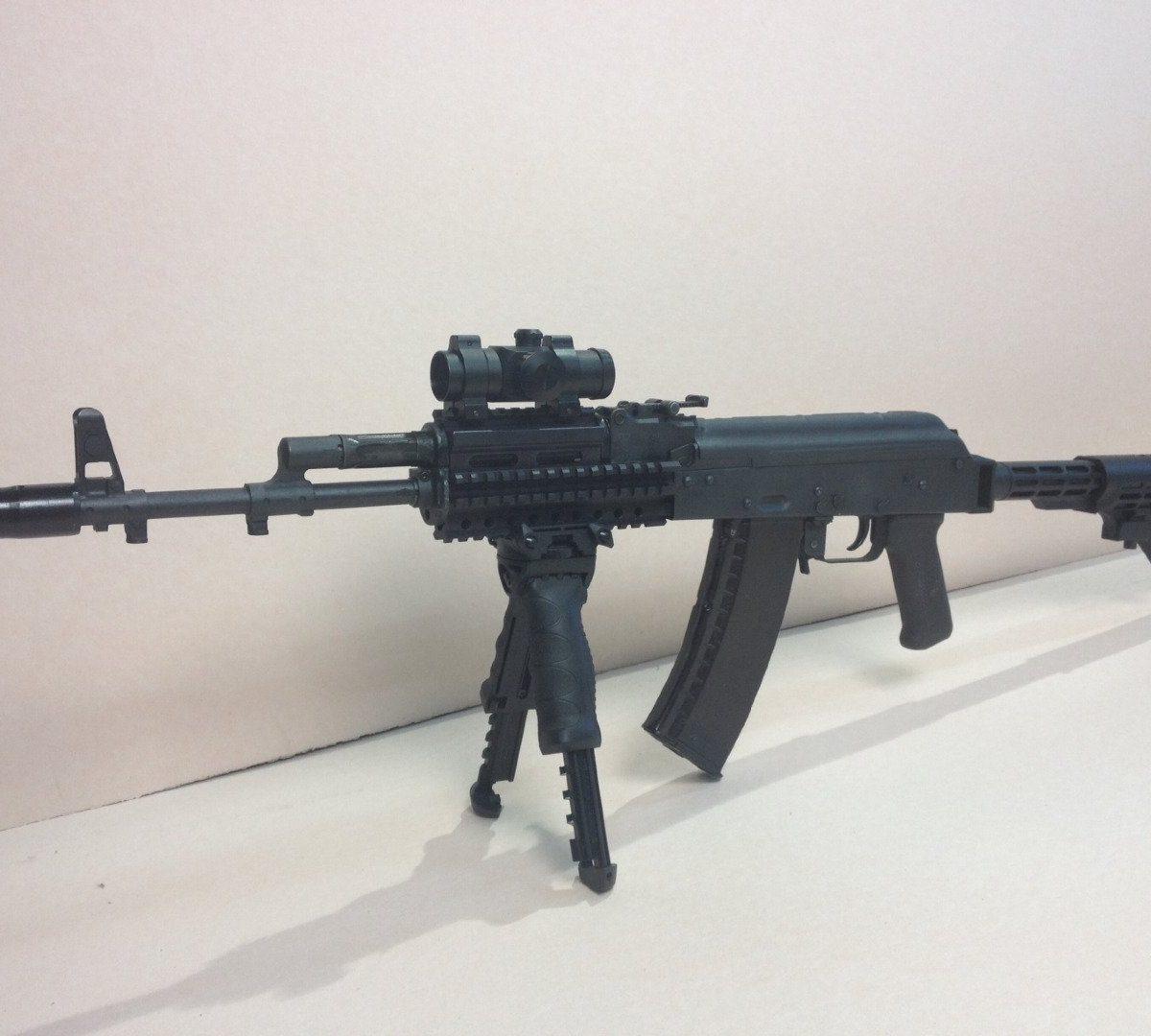 Garde-main CQR type AK-v1 CROOK / BLACK