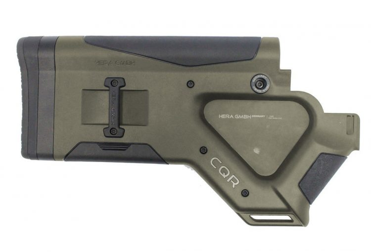 Crosse CQR (Close Quarter Rifle) Hera Arms pour AR15 / OD GREEN