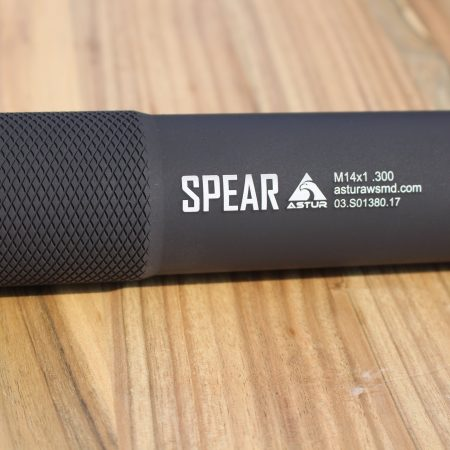 ASTUR SPEAR Sound Reducer en M14x1 RH para .300 Win Mag / .308 Win / 30-06