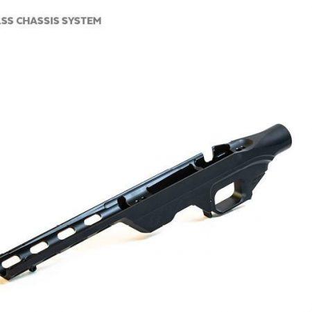Chassis tactique aluminium LSS pour crosse pliable - Tikka T3 (Short Caliber)
