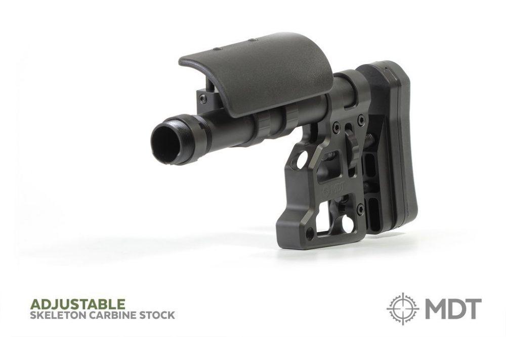 Crosse tactique Skeleton Carbine ambidextre - pour tout Fusil / FDE