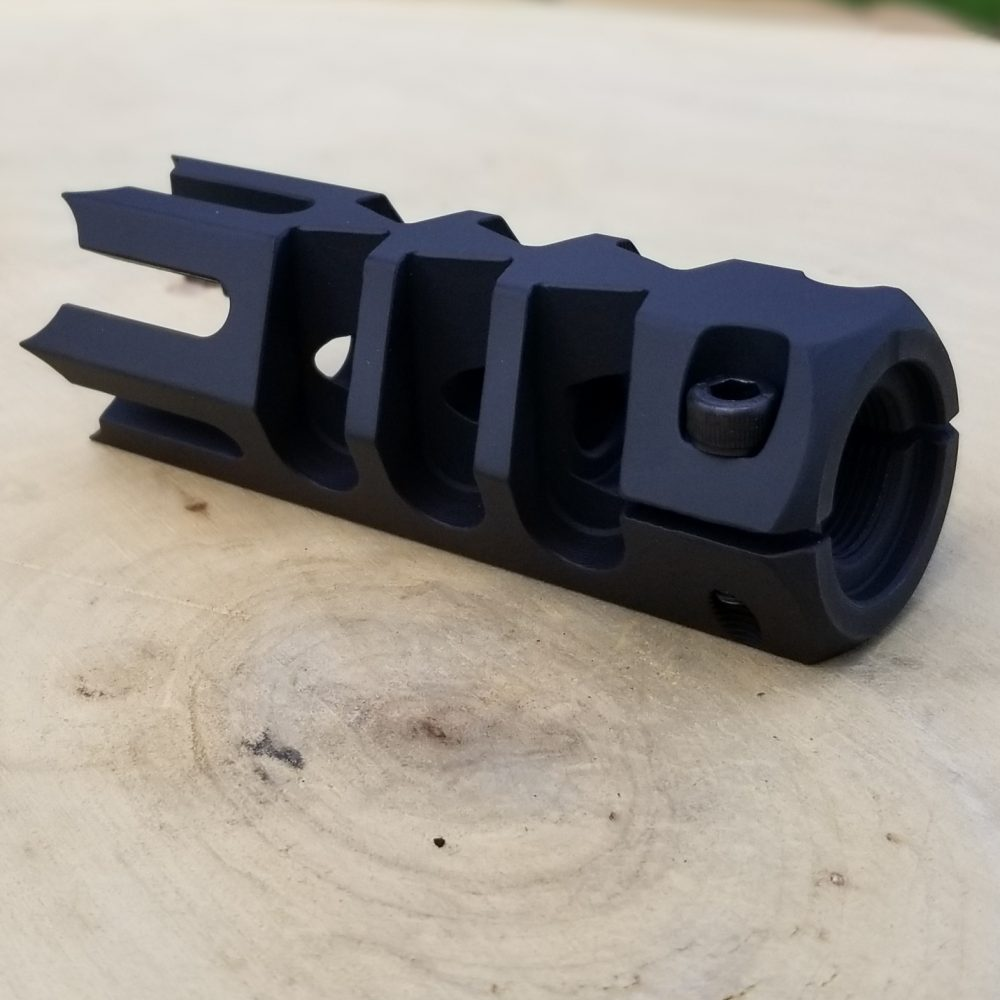 Hunter 1.25 Zoll Spikes Rifle Thread-On Mündungsbremse aresmaxima.com