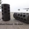 Frein de bouche GUNWORKS Ghost Protocol pour carabine à canon fileté- aluminium 7075