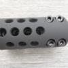 Frein de bouche GUNWORKS Ghost Protocol pour carabine à canon non fileté- aluminium 7075