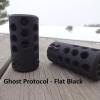 Frein de bouche GUNWORKS Ghost Protocol pour carabine à canon non fileté- acier 416
