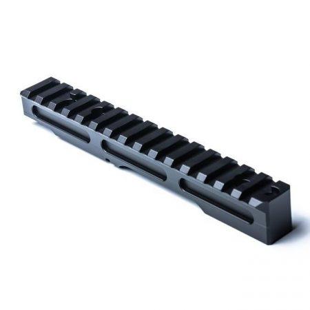 A Picatinny Rail MDT hatótávolságú magas sín a Remington 700-hoz - rövid és hosszú akció