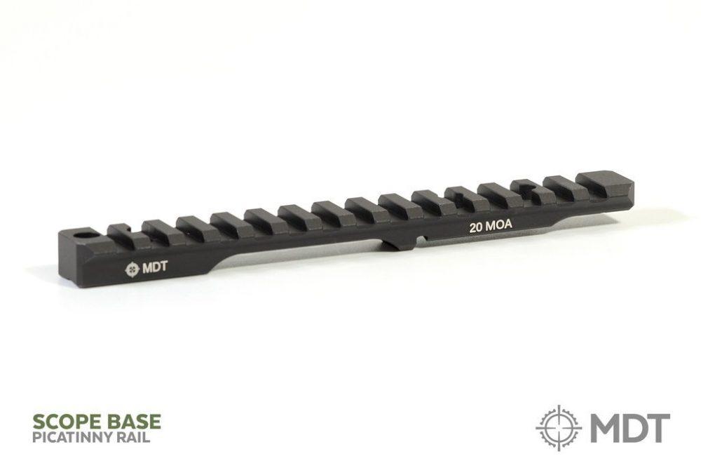 Rail Picatinny MDT Scope Base Rail pour SAVAGE (short & long action)