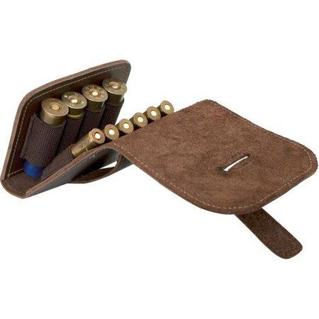Cartouchière combinée à rabat pour 04 Cartouches de Fusil & 06 Cartouches de Carabine