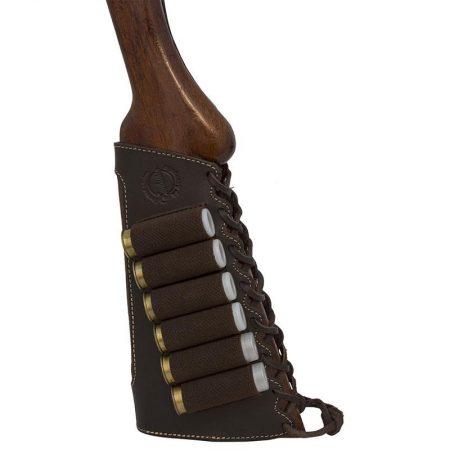 Cartouchière de Crosse pour 06 Cartouches de Fusil (Calibre .12 & .20)