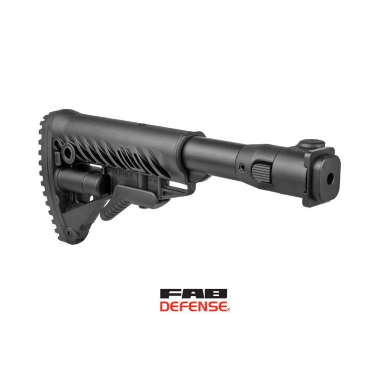 Crosse Tactique Pliante à absorption d'énergie M4-ZAS P SB Fab Defense pour fusil Zastava M70/M77