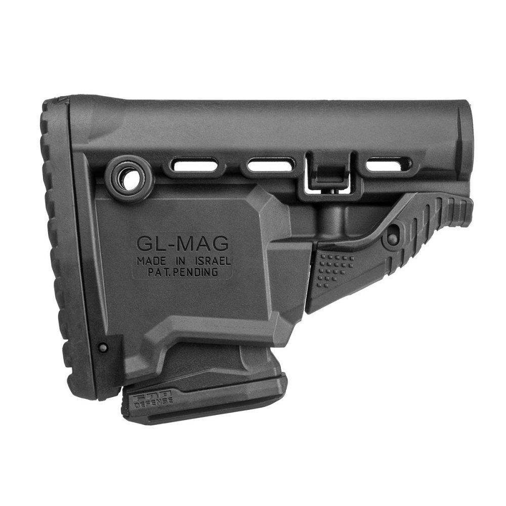 Fab Defense GL-MAG M4 Tactical Stock 'Survival' mit Fach für 1 Magazin