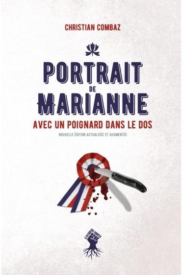 Retrato de Marianne con una daga en la espalda.