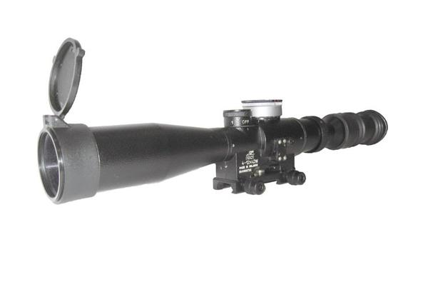 Lunette POSP 4-12x42 W M6 Pro Réticule US MIL-DOT - MIL SPEC