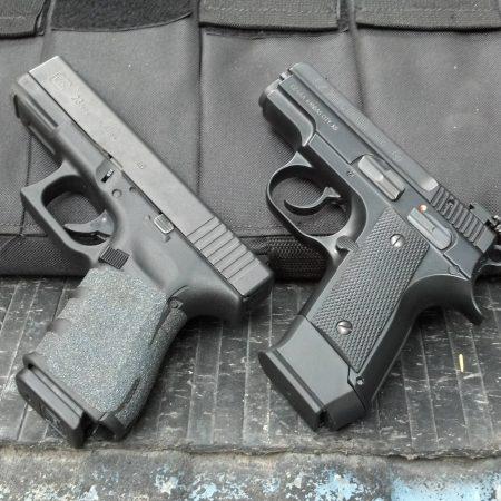 Glock, CZ, Colt et H&K