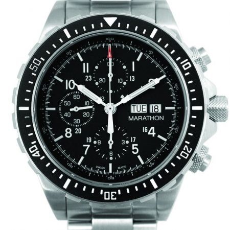 Chronographe Marathon à mouvement automatique Search & Rescue (CSAR) MIL-SPEC